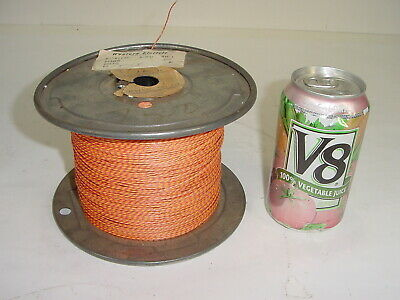 Vintage NOS Western Electric 22 AWG Gauge Cloth Silk Tube Amplifier Wire - 1800'