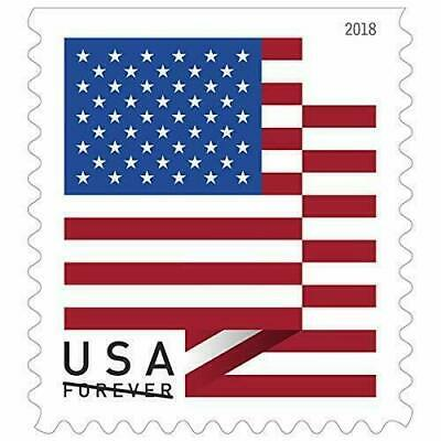 USPS  US Flag 2018 Forever Stamps - 20 Pieces - NEW