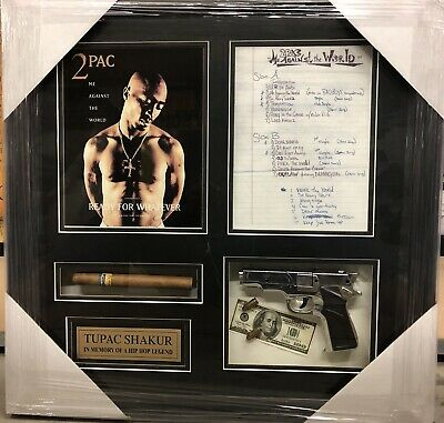 """New Framed 2PAC TUPAC SHAKUR Me Against The World Art Poster Print Size 23x23"""""""
