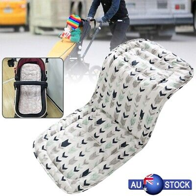 Washable Soft Sweat Absorption Baby Kid Stroller Pushchair Pure Cotton Liner Pad
