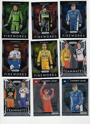 2019 Panini Prizm Racing Insert You Pick Complete Your Set SP Nascar