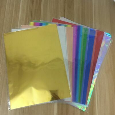 Transfer Foil Paper Laser Printer Gold Laminator Sheets Heat Laminating Papers