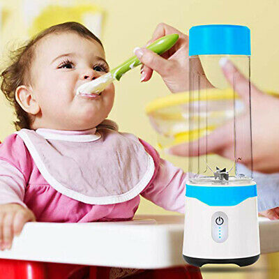 Portable USB Electric Shakes Smoothies Fruit Juicer Cup Baby Food Blender Mixer