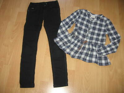 tenue fille 8 ans : pantalon noir ikks + tunique sergent major