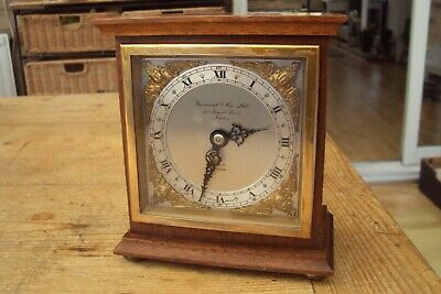 Vintage Garrard & Co Of London Windup Movement Mechanical Elliott Clock.