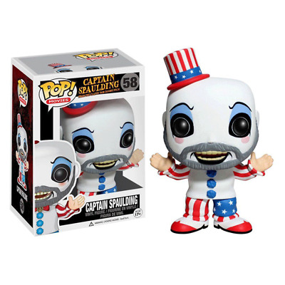 Funko pop Captain Spaulding Action Figure Anime Model Pvc Collection Toys 58#