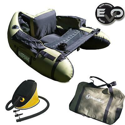 EV77090 Belly Boat Evo fishing Bass Hunter Olive Pesca Spinning Casting     CASG
