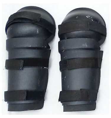 Ex Police Riot Gear Set Forearm Thigh and Shin Guards Paintballing Airsoft S01