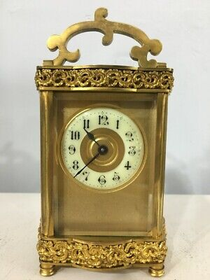 Mid 19th Century 8 Day Carriage Clock