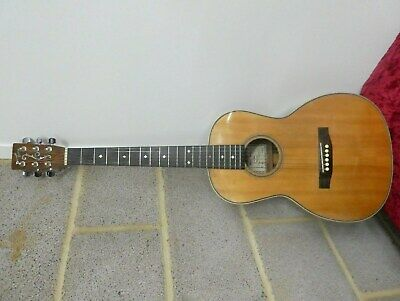 Folk Acoustic Guitar By Luthier David Oddy 1994 C/W  With Hiscock Hardcase .