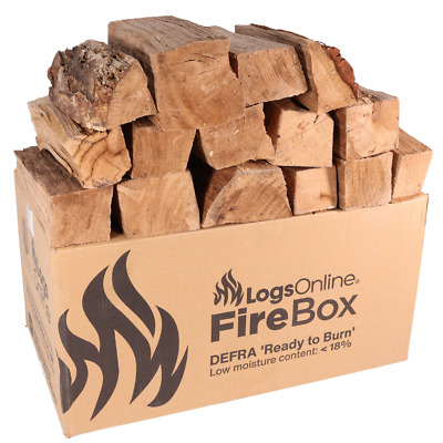 Kiln Dried British Pizza Oven Logs Mixed Hardwood Logs for Pizza Oven 20 Boxes
