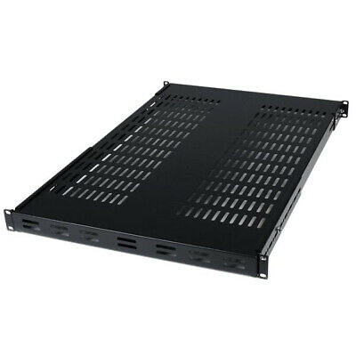 StarTech.com 1U Adjustable Mounting Depth Vented Rack Mount Shelf - 175lbs / 80k