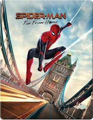 Steelbook Spider-Man Far From Home Zavvi 4K UHD PRÉCOMMANDE