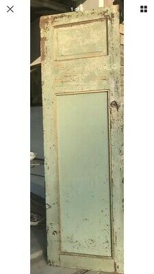 Beautiful  Antique Pantry Door Barn Salvage House Decor + Functional 1920's