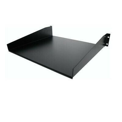 StarTech.com Black Standard Universal Server Rack Cabinet Shelf