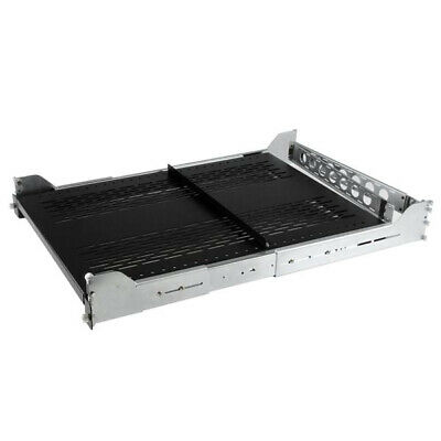 StarTech.com 2U Vented Sliding Rack Shelf w/ Cable Management Arm & Adjustable M