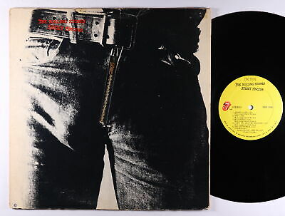 Rolling Stones - Sticky Fingers LP - Rolling Stones VG+ Zipper Cover