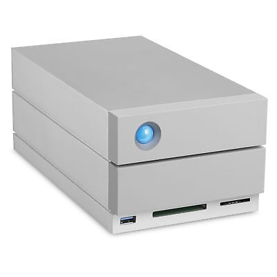 LaCie 2big Dock Thunderbolt 3 disk array 20 TB Desktop Grey
