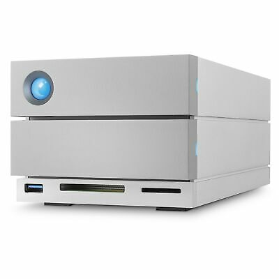LaCie 2big Dock Thunderbolt 3 16TB disk array Desktop Silver