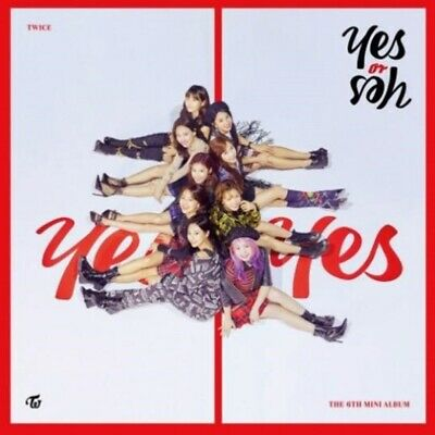 TWICE: YES OR YES* 6th Mini Album* Full Package Poster (CD, JYP) K-POP