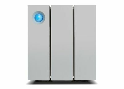 LaCie 2big Thunderbolt 2 disk array 16 TB Desktop Silver