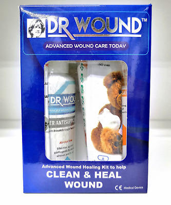 DR WOUND Advanced Wound Healing Set (ChitoHeal Gel 60ml + Silvosept Spray 100ml)