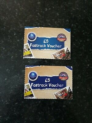 Merlin Pass Alton Towers Fast Track Ticket X2 - To Be Used With Merlin Pass