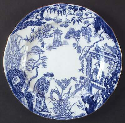 "Royal Crown Derby BLUE MIKADO 8 1/4"" Salad Plate S6752542G2"