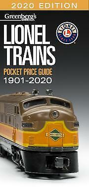 Greenberg's Guides: Lionel Trains Pocket Price Guide 1901-2020