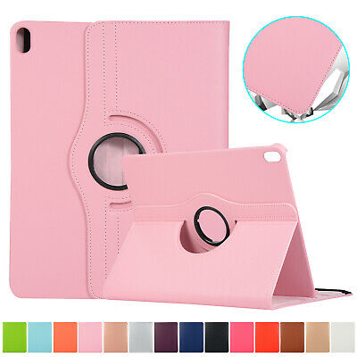 For iPad 10.2 7th Gen 2019 Smart Leather Case Flip Stand 360° Rotate Full Cover