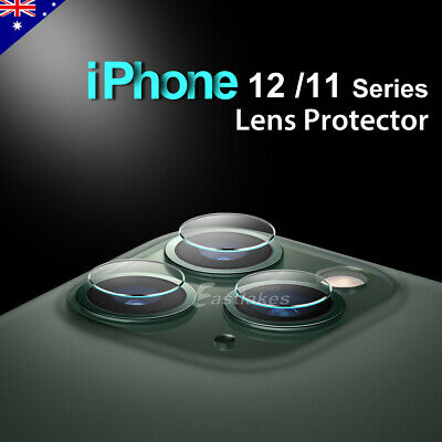 For Apple iPhone 11 Pro Max XS XR Camera Lens Tempered Glass Screen Protector