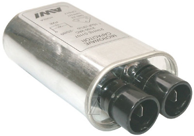 WHIRLPOOL  Condensateur1.15 µf 2100v 31x52x100mm ±4 (NEUF) 481912118299 Pour MIC