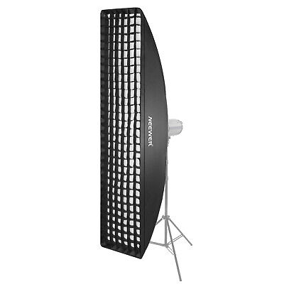 Neewer 35 x 160 centimeters Honeycomb Grid Softbox with Bowens Mount Speedring