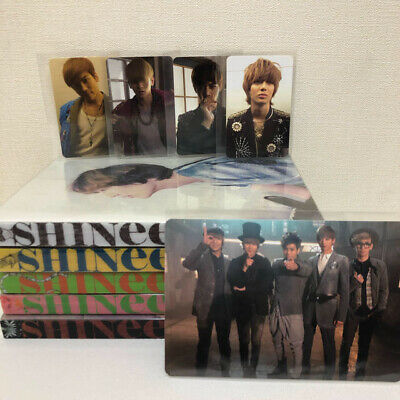 SHINee Photo card photocard Official Limited Sherlock Japan Chooseble