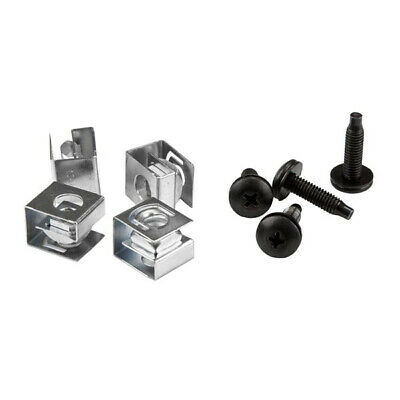 StarTech.com Server Rack Screws and Clip Nuts - 10-32 - Rack Mount Screws and Sl