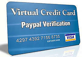 VCC Virtual Prepaid Credit Card For Paypal