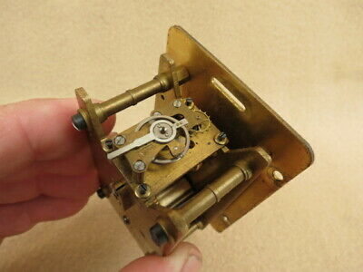 Vintage Davall  Clock Movement And Hands