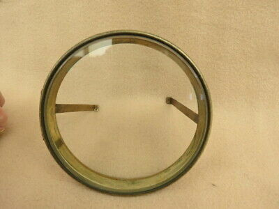Antique Clock Bezel And Glass To Fit An Aperture 12.1 Cm