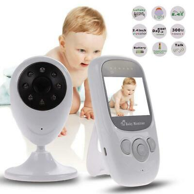 Wireless 2.4Gz Digital Color LCD Baby Monitor Camera Night Vision Audio Video MT