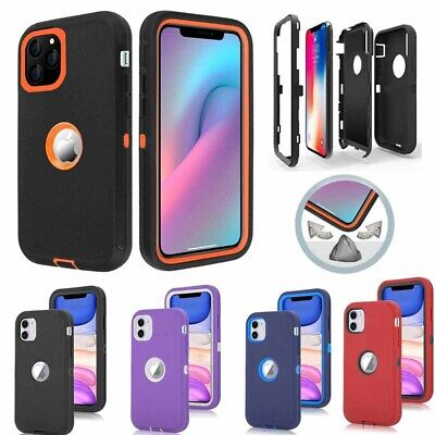 For Apple iPhone 11 Pro Max Case Hybrid Shockproof Armor Protective Hard Cover