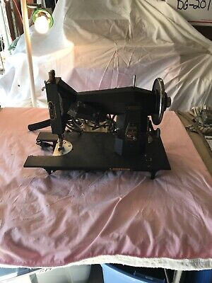 Vintage Sears-Roebuck Kenmore Heavy Metal Rotary Sewing Machine, Model 117-552