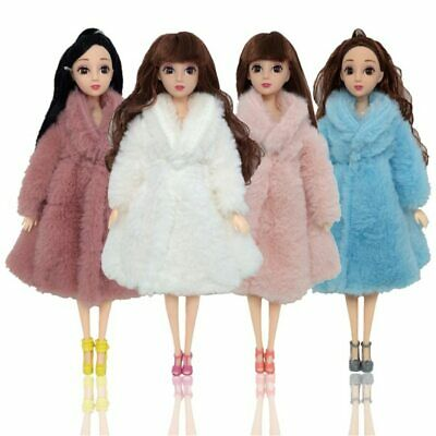 2019 Doll Coat High-quality Clothes Fashion Dress Coat for Barbie Doll DIY Toy