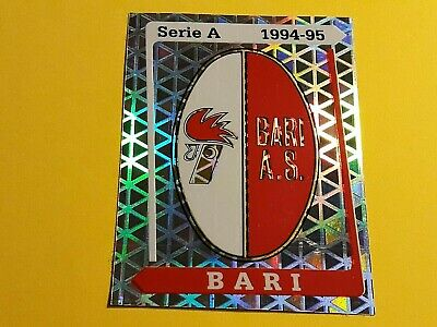 BARI SCUDETTO BADGE FIGURINA CALCIATORI PANINI 1994/95 n°1 REC
