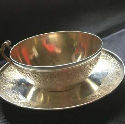 Antique 19th Century French Sterling Silver Tea