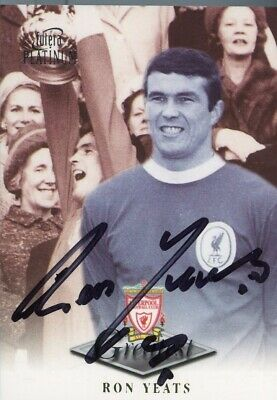 Ron Yeats - Signed Liverpool 'Greatest' Trading Card
