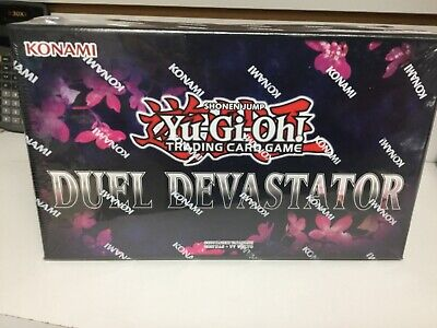 Yu-Gi-Oh Duel Devastator Deck Box Factory Sealed With 52 Cards inside