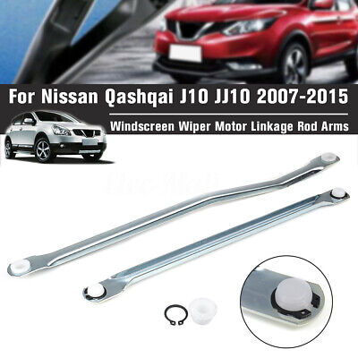 Windscreen Wiper Motor Linkage Rod Arms For Nissan Qashqai J10 JJ10 2007-2015
