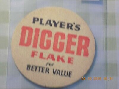 Old Cigarette Tobacco Beermat Players Diggers Flake Cat ??? (1910P56)