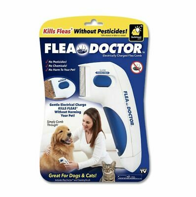 New Flea Doctor Electric Pet Dog And Dog Mites Flea Cleaning Brush Pet Supplies*