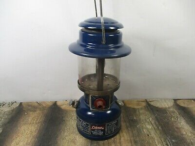Coleman Lantern 321A Blue  Dated 2 - 76 No Reserve